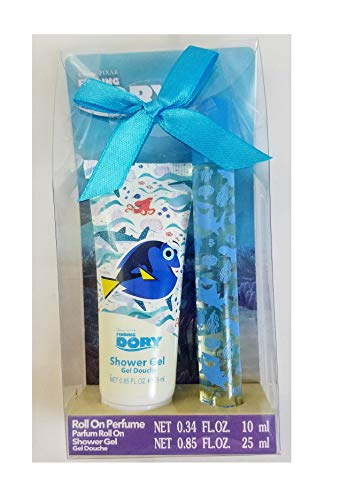 Disney Pixar's Finding Dory Roll On Perfume and Shower Gel 2-Piece Bath Set