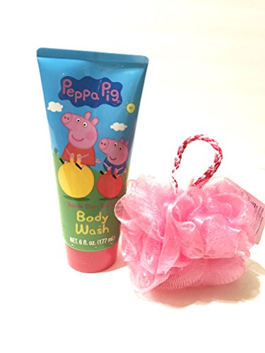 Peppa Pig And Razz Gentle Mini Bath Sponge bundle