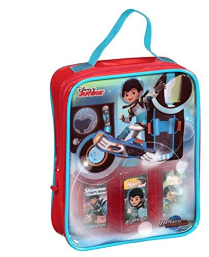 Disney Junior Miles from Tomorrowland Berry Blast Scented Travel Bath Set, 4 pc