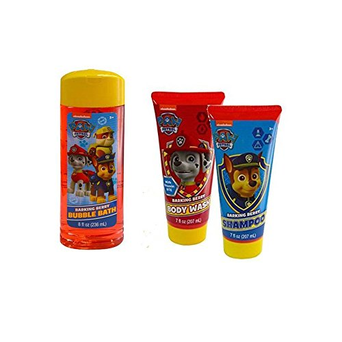 Nickelodeon Paw Patrol Shower Set - Shampoo , Body Wash , Bubble Bath New