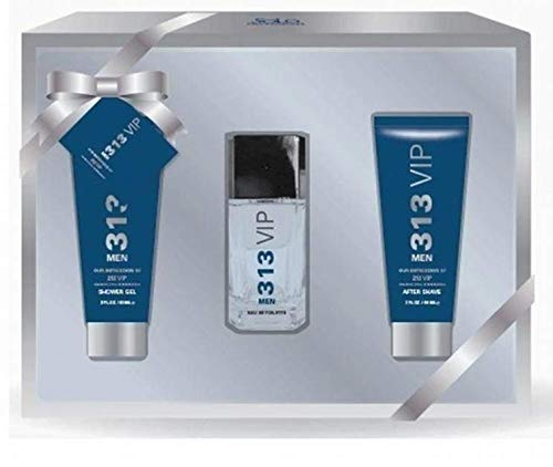 Solo Fragrances 313 VIP 3pc set (Eau De Toilette, Shower Gel, After Shave)