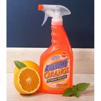 LAs Totally Awesome Orange Degreaser and Spot Remover, 22 oz., 2 Pack