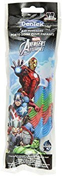 Bundle of toothcare products from Disney's Marvel Avengers Includes 3 Toothbrushes and Kids Dental Flossers