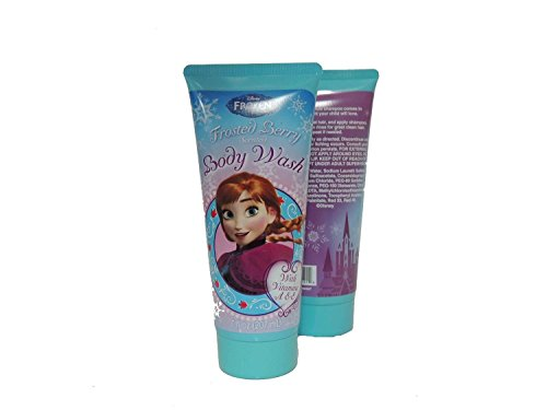 Frozen Bath Set Disney Gift Set Shampoo Conditioner Lotion and Body Wash Includes Frozen Tin Case for Carrying or Frozen Lunch Box