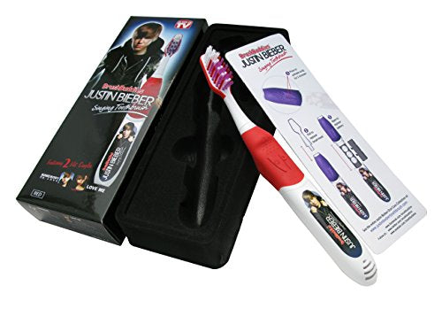 Brush Buddies Justin Bieber Singing Toothbrush, Sombody to Love and Love Me (Colors May Vary)