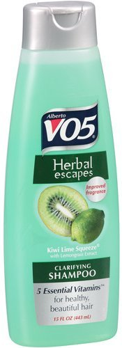 VO5 Kiwi Lime Squeeze Clarifying Shampoo 15 ounce Pack of 6