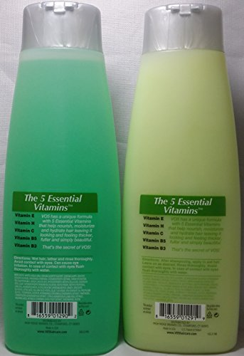 VO5 Kiwi Lime Squeeze Clarifying Shampoo & Conditioner 12.5 ounce one of each