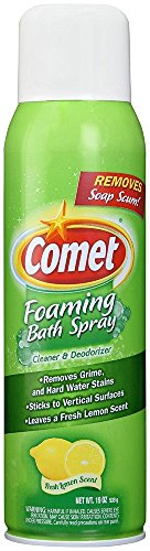 Comet Foaming Bath Spray Clearer & Deodorizer, Pack of 2