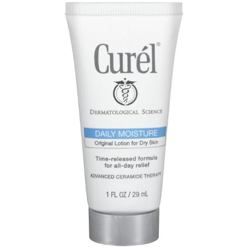 Curel Daily Moisture Original Body Lotion, 1 Ounce (Pack of 10)