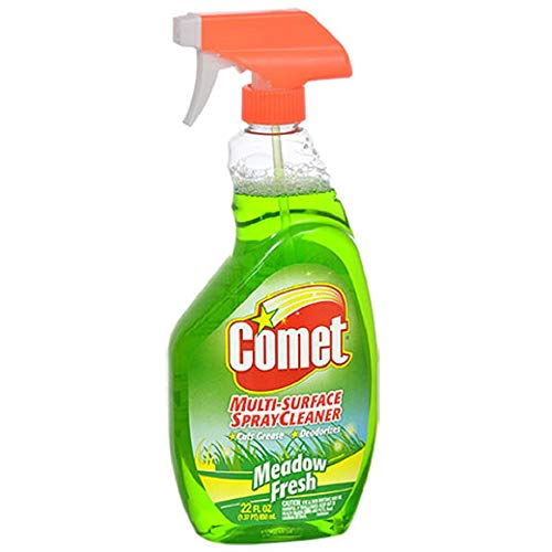 Comet Multi-Surface Meadow Fresh Spray Cleaner, 22-oz. Bottles (6 )