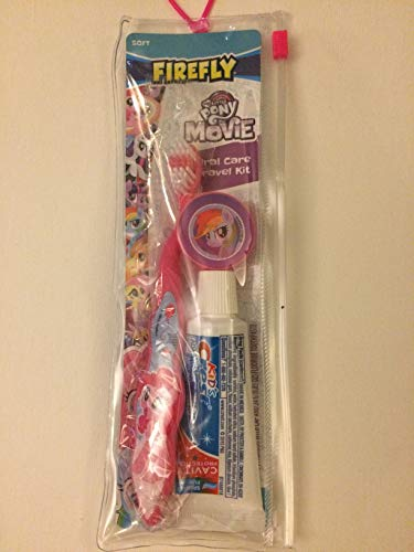 Firefly My Little Pony Movie Kid's Dental Travel Kit