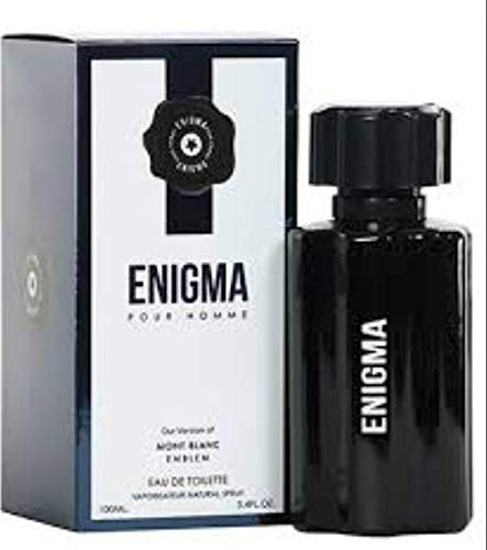 Enigma Pour Home Eau De Toilette By Diamond Collection 3.4 ounces