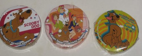 3 SCOOBY DOO Magic Towels