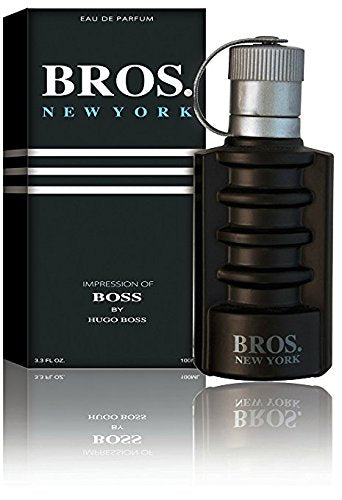 Bros. New York Eau De Toilette Spray for Men, 3.1 Ounces 95ml