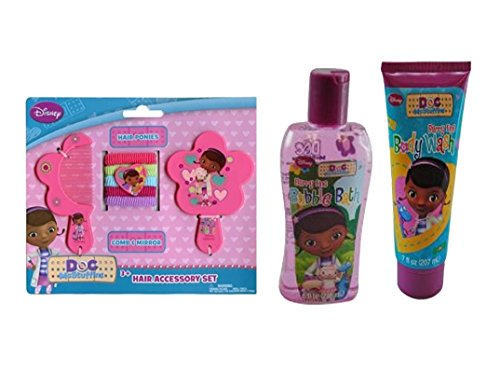 Disney Jr. Doc Mcstuffins Girls 9pc. Bath & Beauty Accessory Gift Set!