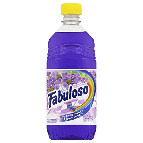 Fabuloso Multipurpose Cleaner, Lavender Scent, 16.9  pack of 4