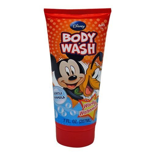 United Pacific Designs Disney Mickey Mouse Body Wash, 7 oz (Pack of 3)