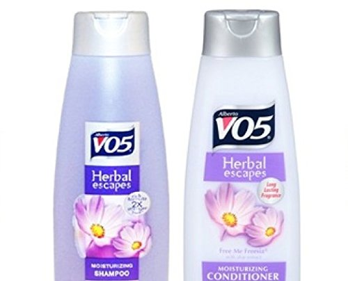 Vo5 Herbal Escapes shampoo and Conditioner, 12.5 Oz, Free Me Freesia (Pack of 2)