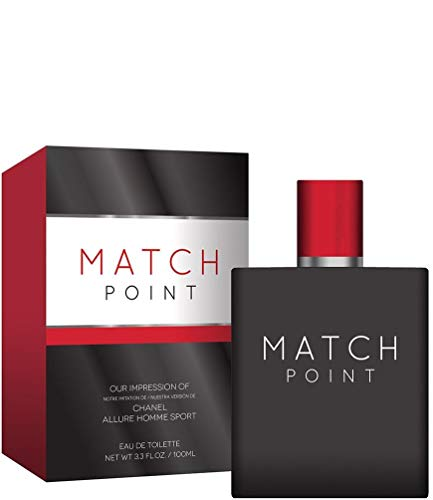MATCH POINT for Men 3.4 ounce by preferred fragrance