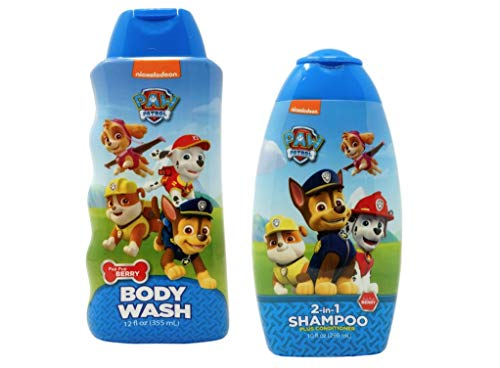 Paw Patrol Shampoo and Body Wash - Kids Super Pups Bath Set