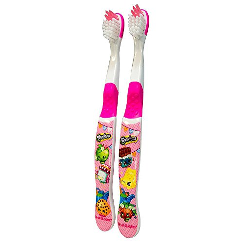 Shopkins Brush Buddies Toothbrush [Set of 2]
