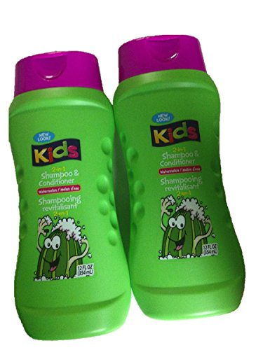 Kids Watermelon (Two Bottles of 2-in-1 Shampoo &Conditioner)