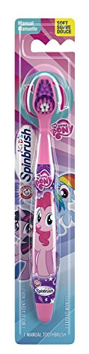 My Little Pony Pinkie Pie Toothbrush Bundle: 2 Items - Manual Spinbrush Toothbrush, My Little Pony Character Rinse Cup