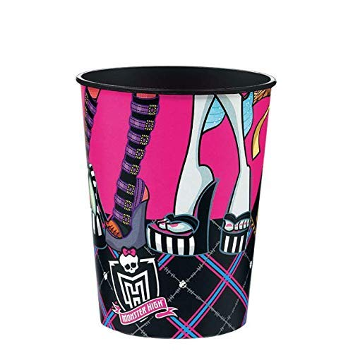 Monster High Inspired Girl's 4pc Bright Smile Hygiene Set! 2pk Toothbrush, Brushing Timer & Rinse Cup! Plus Bonus Tooth Necklace