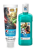 Ready...Set...Brush! Exclusive Star Wars Crest ProHealh Jr. Toothpaste & Crest Pro-Health Jr. Star Wars Mouth Wash!