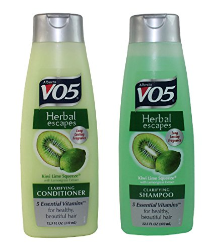 VO5 Kiwi Lime Squeeze Clarifying Shampoo & Conditioner 15 ounce one of each