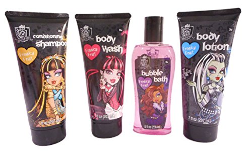 Monster High Freaky Fruit Scented 4-Piece Bath Set