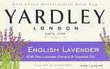 Yardley London English Lavender with Essential Oils Soap Bar, 4.25 oz Bar (Pack of 4)