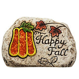Fall Expressions Cement Garden Stones (Welcome)