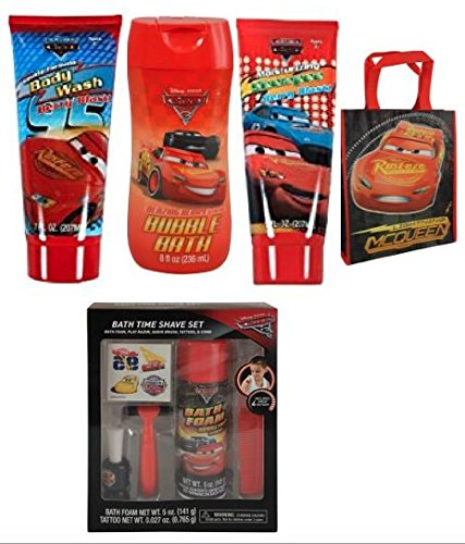 Disney Cars Ultimate Bath Gift Set in a Bag