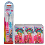 JoJo Siwa Girl's 8pc Bathroom Collection! Includes 2pk Soft Manual Toothbrush & 6pk Pocket Tissue!
