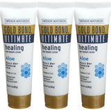 Gold Bond Ultimate Healing Skin Therapy Lotion Aloe Travel Size 1 Oz (Pack of 3)