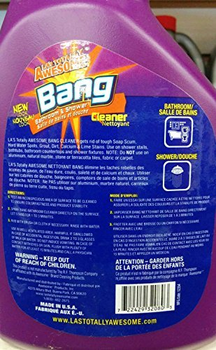 LAS Totally Awesome Cleaner BANG bathroom and shower cleaner Pack of 2