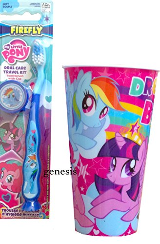 My Little Pony Children's Oral Travel Kit With My Little Pony Rinse Cup (Pinkie)