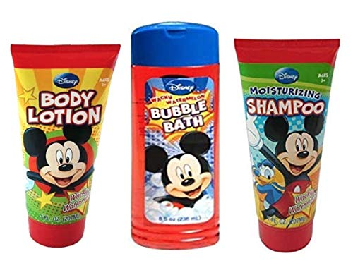 Disney Mickey Bathing & Skin Care (bubble bath shampoo lotion)