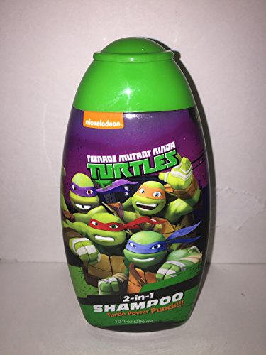 Teenage Mutant Ninja Turlte Body Wash & 2-in-1 Shampoo,Magic Towel