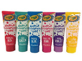Crayola Bathtub Finger Paint Soap 6 Pack New Colors