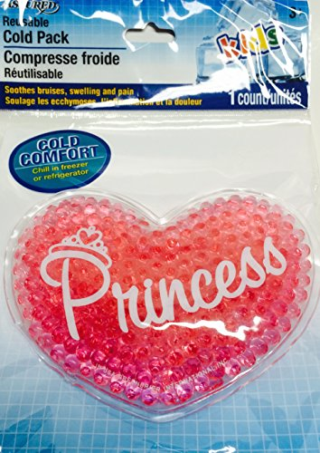 Disney Princess Facial Tissues & Heart-shaped Magic Cotton Washcloth (Grows in Water!); Pink Heart-shaped Soothing Compress or For Lunchbox; 3-pc