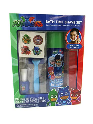 PJ MASKS Bath Time Shave Set