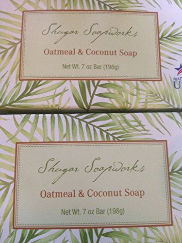 Soapworks Oatmeal & Coconut soap (pack of 2)