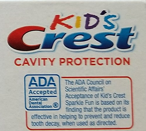 Crest Kid's Cavity Protection Toothpaste Sparkle Fun (Bubblegum flavor) 2.2oz & Minions Extra Soft Toothbrush