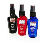 BOD man Body Spray 3 Pak - includes Black, Most Wanted and Really Ripped Abs