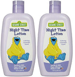Sesame Street Night Time Lotion, Hypoallergenic, Calming Lavender Scent, 10 Fl Oz (Pack of 2)