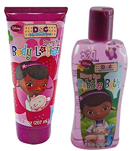 Doc McStuffins Body Lotion & Bubble Bath bundle
