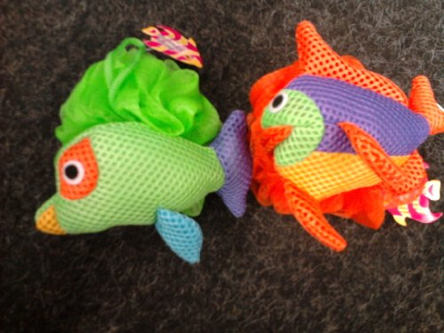 Ocean Themed Body Pout Net Sponge - Varies