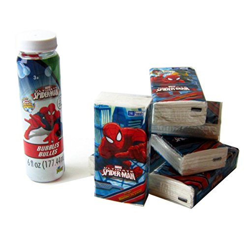 Spiderman Bath bundle Spiderman Personal Bath Accessories Kit For Boys